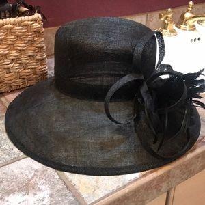 Kate Landry derby hat